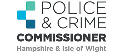 Police crime commissioner isle of Wight and Hampshire logo
