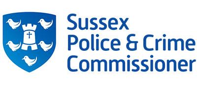 Sussex police crime commissioner logo